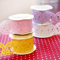 Fashion romantic yoofun fresh diy multifunctional lace tape paste type