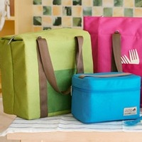 Large waterproof insulation bag lunch picnic bag messenger bag handbag bag ice cooler travel bags in bag