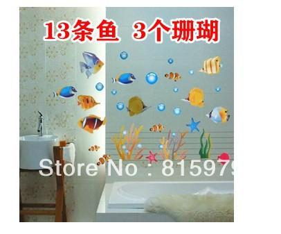 Carreaux de verre bleu salle de bains promotion achetez - Mosaique auto adhesive salle de bain ...