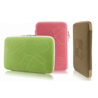 "Free Shipping Universal Soft Protector Bag Pouch Cover Case For 7 inch MID PDA soft case for 7"" Tablet PC , JP1018"