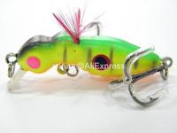 Fishing Lure Crankbait Hard Bait Fresh Water Shallow Water Bass Walleye Crappie Minnow Fishing Tackle C394X28