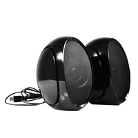 Bruno mini audio notebook multimedia desktop usb2.0 portable small computer speaker wire belt