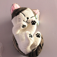 Cheese cat plush toy doll large cat pillow doll