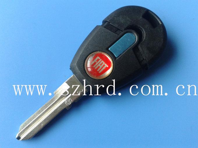 china post new style Fiat key blank transponder key free shipping(China (Mainland))