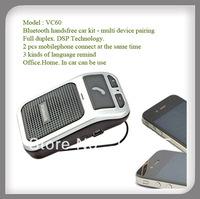 Mini car kit bluetooth handsfree multi device DSP Technology
