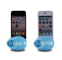 400pcs/lot Creative Music Egg Audio Dock Loud Speaker Amplifier Portable for Phone 4S 4G 5G 5C