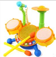 Child drum rack jazz drum baby drum rack infant electronic drum baby toy music toy