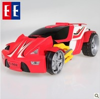 Kumgang eagle 's phantom remote control deformation car electric robot toy car charge remote control car