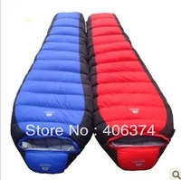 1.7 kg   mountain  adult outdoor duck  down sleeping bag, free shipping