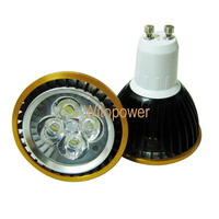 free shipping 10 PC 4W LED Bulb Spotlight Dimmable GU10 Cool Warm White 440LM 85-265V