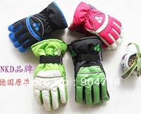 wholesale Children's ski gloves/children winter gloves/Kids warm waterproof hand down gloves/children cotton mitten/2 color