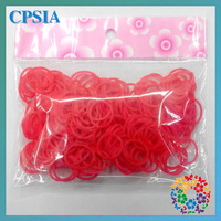Rainbow Loom Jelly Rubber Bands 2013 Children DIY rainbow loom Bands Refill + C-clips free shipping 500pcs/pack- 600packs/lot
