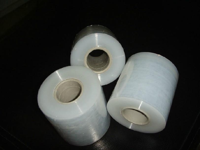 Itemship- 5pcs 4cm PVC transparent wire film Stretch Film 140M/Roll(China (Mainland))