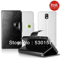 IMAK Brand Esternal Series pu Leather Wallet Case For Samsung Galaxy Note 3, with retail packaging, 20pcs/lot wholesale
