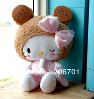 50cm KT Cat Doll Hello Kitty Plush Doll Birthday Gift Wholesale Plush Toys