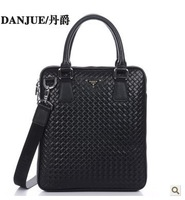 2013 first layer brand bag cowhide handbag man business bag office high fashion genuine leather man bag 8802-2