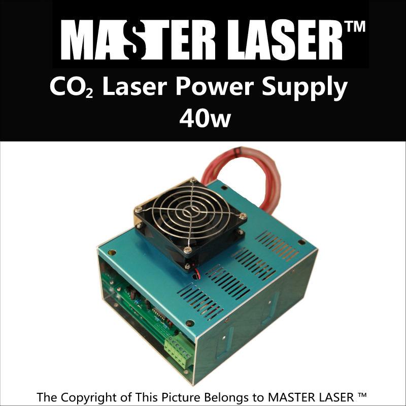 migliore qualità laser co2 machineco2 alimentazione laser 40w