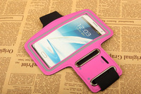 Wholesale Bulk Price, 20PCS x For Samsung N7100 Note II Arm Band Armband Case Cover Pouch, Adjustable 10 Colors, Free Shipping