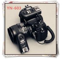 YongNuo RF-603 C1 RF 603 Wireless Flash Trigger For Canon 1000D / 550D / 500D / 450D / 400D / 350D / 300D Free Shipping