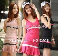 13 women's summer sports set sports skirt pleated skirt tennis ball dress badminton skirt A dancing cheerleaders sport culottes