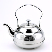 Stainless steel teapot stainless steel coffee pot cold water pot 1.0l electromagnetic furnace