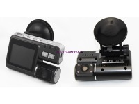 HD 720P 2.0 Dual Lens Dashboard Car Vehicle Camera Video Recorder DVR CAM