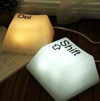 Button lights led energy saving lamp bed-lighting pat lights baby lamp table lamp gift plug in night light