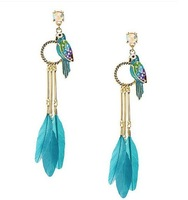 free shipping fashion sexy Feather earrings for women/ladies/girls hot new goods high quality