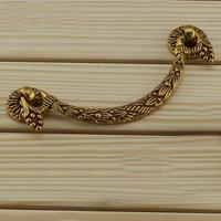 Hanging type of Europe type furniture handle Chinese antique cabinet wardrobe drawer pulls Furniture door handle