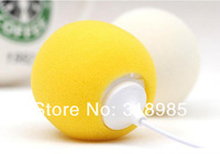 10pc/lot 3.5MM Portable Mini Ballon Speaker for Mobile phone/PC Gift for friends Colourful Music MP3 Audio Player freeship