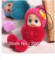5pcs Confused doll phone pendant wedding gifts cute plush toys wholesale fashion