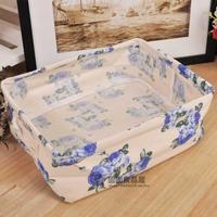 Cosmetic storage baskets storage basket minimalist home zakka Storage Bag underwear drawer storage box
