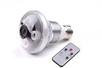 2013 nwe Lamp Camera Infrared Bulb Security Camera DVR H.264 Motion Detection HD 720P cctv camcorder