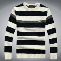 new 2013 Free shipping autumn -summer casual sweater men christmas sweaters mens plus size christmas sweaters