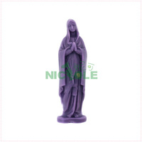 chocolate mould 3D handmade soap diy Madonna silicone mould sugar Baking pastry tools