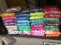 ( 300 count +12 s clip + 1 hook )  Loom  Band  Refill Bag rubber band DIY bracelet 400pack/lot