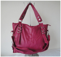 A101(lavender,) popular bag,purses,fashion ladys handbag,42x25cm,PU,7 different colors,two function,Free shipping!