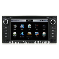 "6.2""HD Car DVD Player GPS Nivagation Navi RDS for Toyota Corolla RAV4 Camry RAV4 BY FREE SHIPPING"