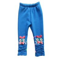 New Arrival 5pcs/lot Cotton Fashion Baby Girl Legging Kids Legging Children Costumes 4Colors 2185