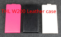 Free Shipping Original Protective Flip leather case for ThL W200 Smartphone,High Quality Fashion Antiskid Protective Holster