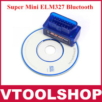 2013 Latest Version V2.1 Super Mini ELM327 Bluetooth OBD2 Scanner ELM 327 For Multi-brand CANBUS Support All OBD2 Model