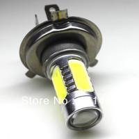 Free shipping 2pcs/lot H4 7.5W Super Bright White 6000K-8000k DC 12V 24V LED Bulb Car Fog Light Daytime running Lamp
