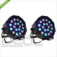 2014 hot sale 18X3W LED Par Light 54W RGB PAR64 DMX PAR Stage Lighting