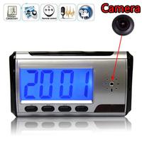 Digital Clock Security Hidden DVR Camera Motion Detector DVR USB Mini DV