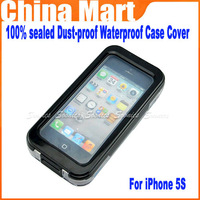 100% sealed Dust-proof Waterproof Shockproof Protection Case Cover For iPhone 5 5s  4S