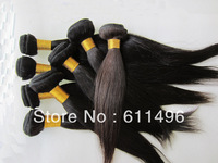 "Free shipping Same size 3pcs/lot Brazilian Straight virgin hair from 12""-30"" In stock"