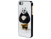3D Glittery Panda Print Plastic Case for iPhone 5S/5   LIP-4380D