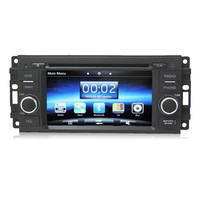 "6"" Car DVD Player GPS Navigation Navi for Jeep Grand Cherokee Commander Compass  BY FREE SHIPPING"