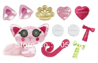 Free Shipping Lalaloopsy Doll Design a Pet ! Kids Gift Buttontails-Cat Child Toy Sew Magical ! Button Doll Original Brand