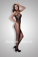 IBZAN sexy hot mature lingerie and attractive mesh stockings teddy -new arrivals206093